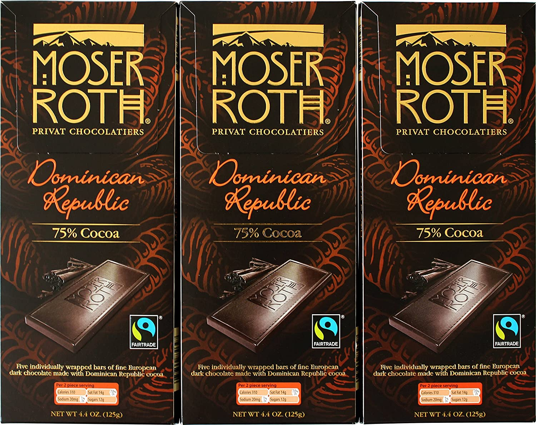 Amazon.com : Fair Trade Chocolate Bars - Dominican Republic 75 ...