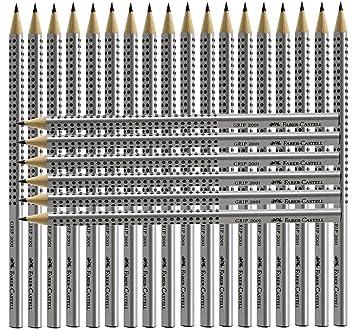 Sparpack wählbar FABER-CASTELL Bleistift GRIP 2001 Härtegrad B