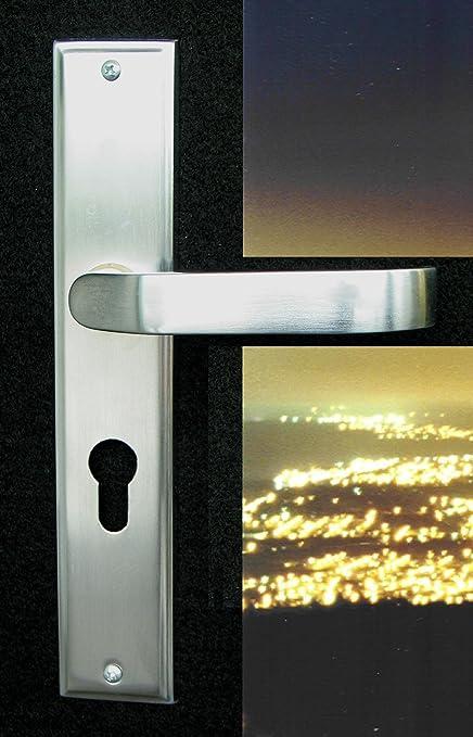 Mortise Lock Entry Door Lockset With Deadbolt Plaza Lever Handle