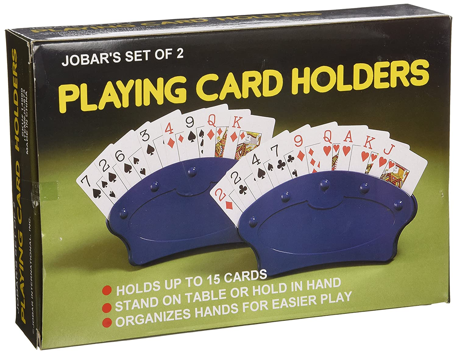 Amazon.com: Playing Card Holders, Set of 2: Toys & Games