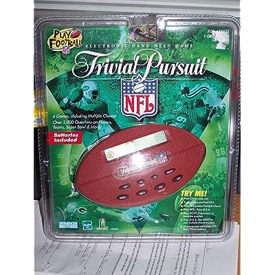 Parker Brothers Trivial Pursuit NFL Handheld Game: Toys & Games