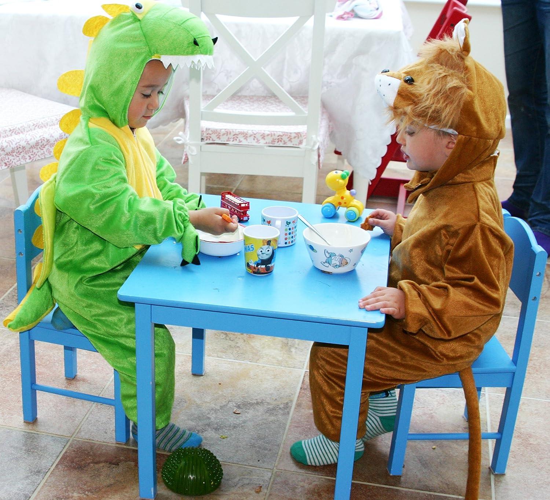 122 cm Fun Play Costume dei Bambini Vestito Operato Dinosauro Costume Animale Onesies per 5-7 Anni
