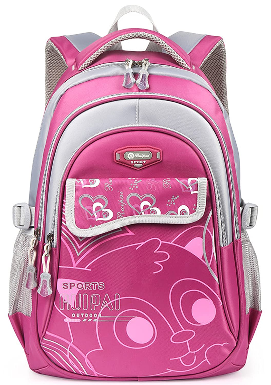 Rikki Knight Letter H Monogram on Rainbow Colors Scallop Messenger Bag School Bag