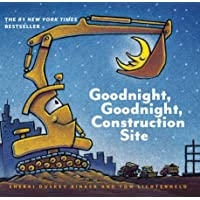 Goodnight, Goodnight Construction Site (Board Book for Toddlers, Children's Board Book)