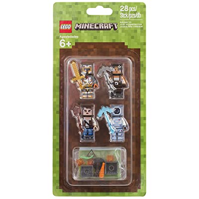 LEGO Minecraft 853610 Mini Figure Pack: Toys & Games