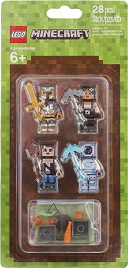 LEGO Minecraft Skin Pack 2 28pieza(s) Juego de construcción ...