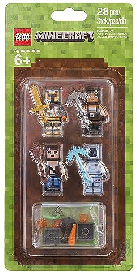 LEGO Minecraft Skin Pack 2 28pieza(s) Juego de construcción - Juegos de construcción (6 año(s), 28 Pieza(s))