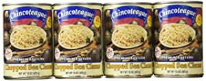 Chincoteague Seafood Chopped Sea Clams, 15-Ounce Cans (Pack of 12)