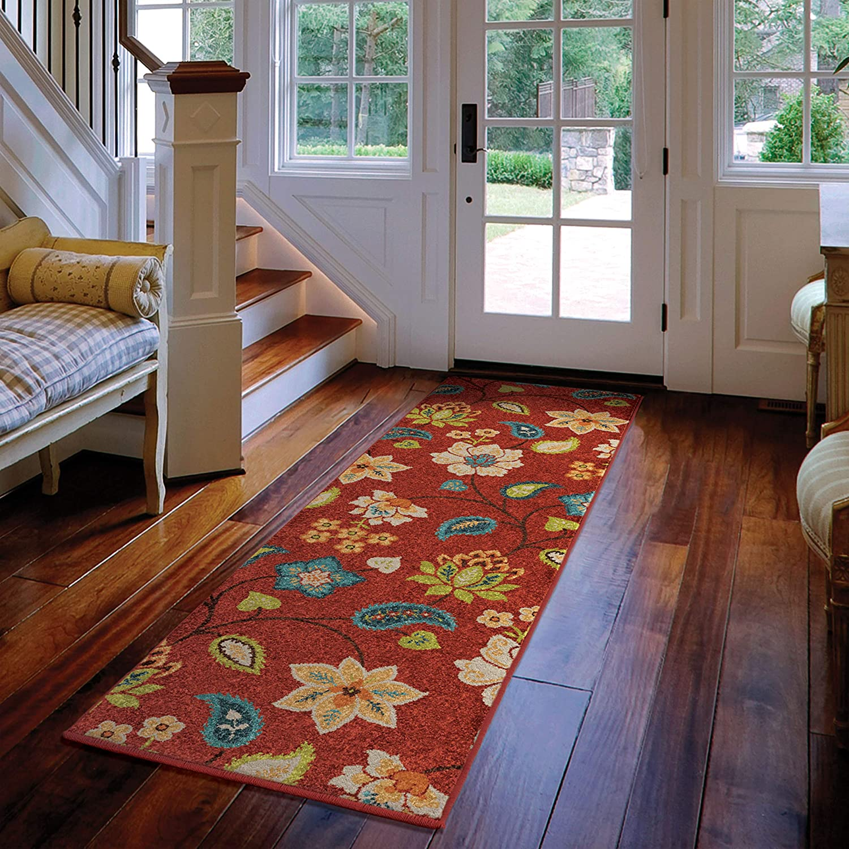 Amazon.com: Alfombra de chintz de jardín para interiores y ...