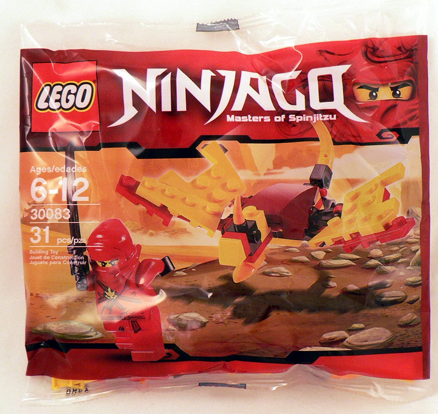 LEGO Ninjago Exclusive Mini Figure Set #30083 Dragon Fight Bagged
