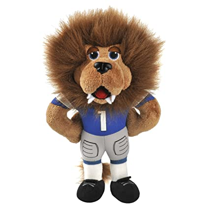 Amazon Com Detroit Lions Mascot Plush Roary The Lion Sports