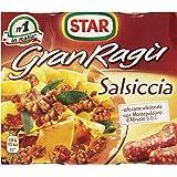 Star - Granragu' Salsiccia - 3 confezioni da 2 pezzi da 90 g [6 pezzi, 540 g]