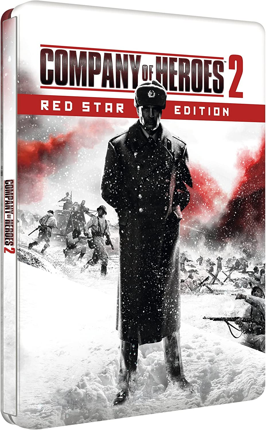 Company Of Heroes 2 Red Star Steel Book Edition Pc Dvd Amazon Co Uk Pc Video Games