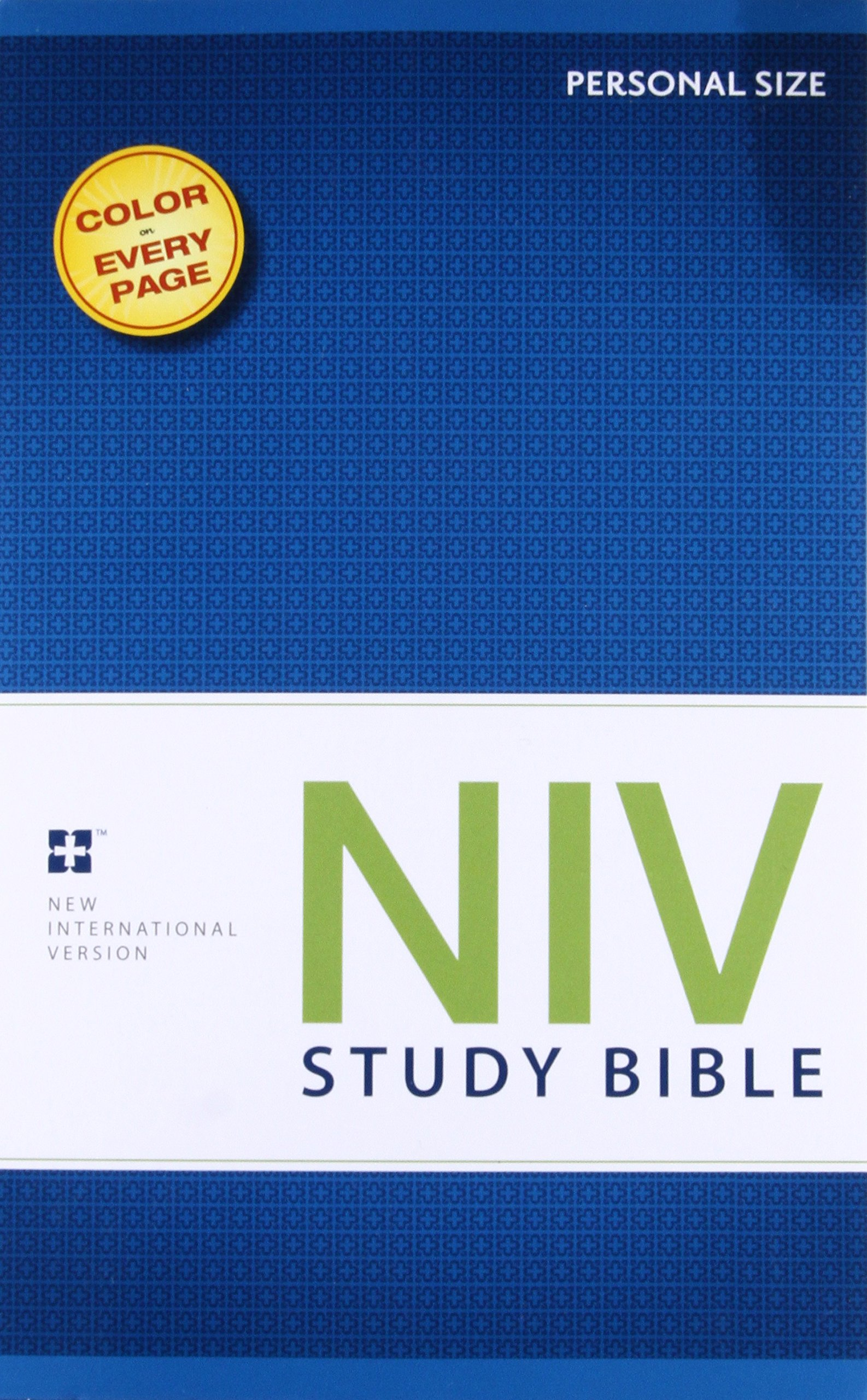 NIV Study Bible, Personal Size, Paperback, Red Letter