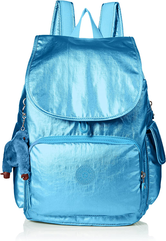 Kipling Mujer BP4351 Mochila azulejo turco metálico City Pack Talla única: Amazon.es: Ropa y accesorios