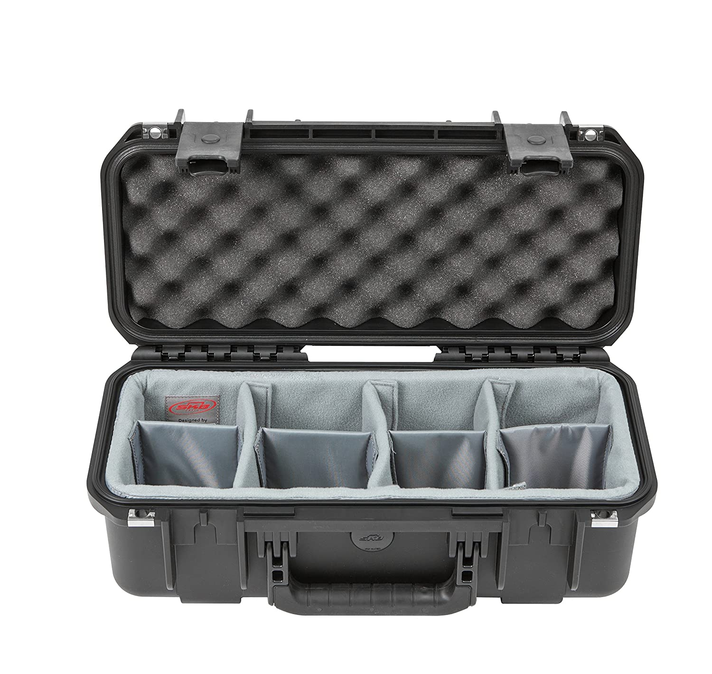 AKG Cases 3i-1706-6DT iシリーズ プロフェッショナルカメラケース、ブラック/グレー B078MS2JTJ