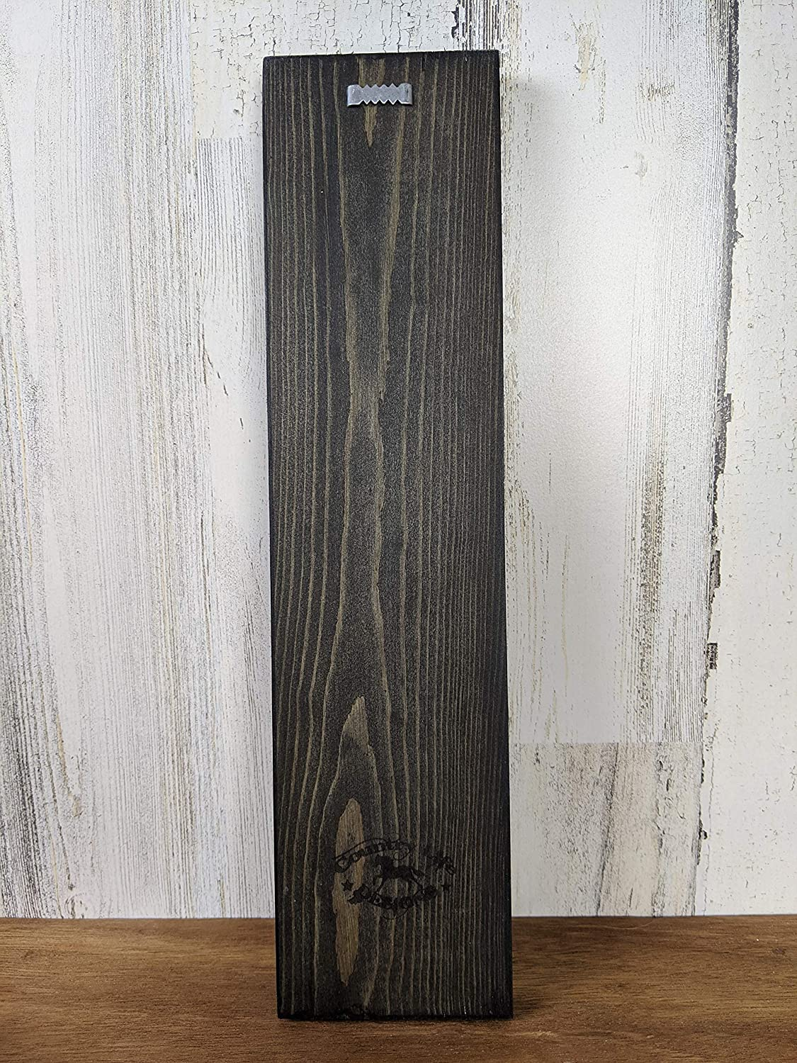 Farmhouse Decor Rustic Bathroom Handmade Wood Wall Hanging Vertical Get Naked Sign