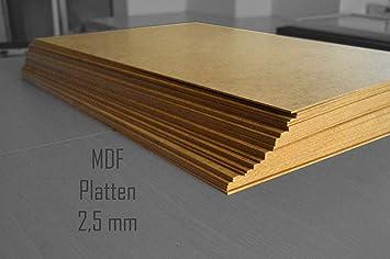 Fußbodenplatten Aus Holz ~ Stck cm mdf platten mm stark dick holz