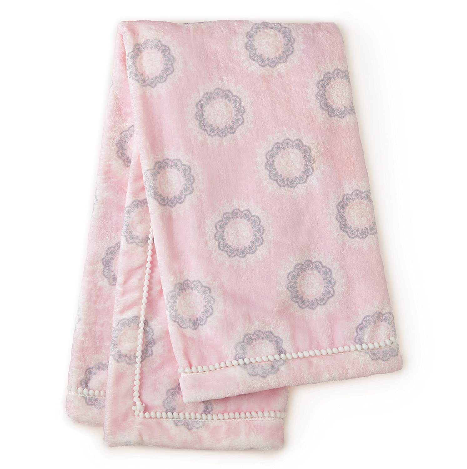 Levtex Baby Willow Medallion Blanket - Pink
