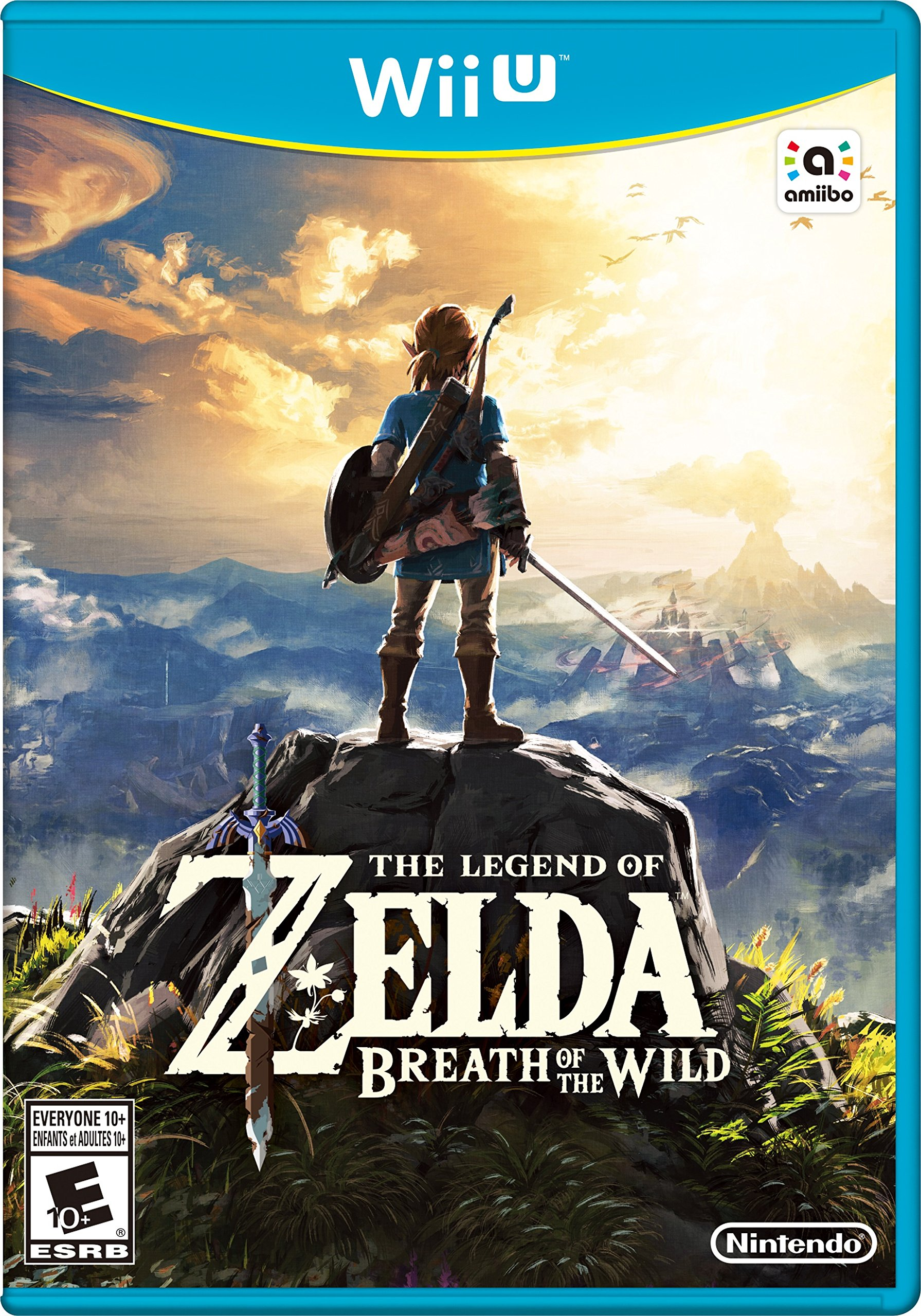the legend of zelda breath of the wild   wii u digital code