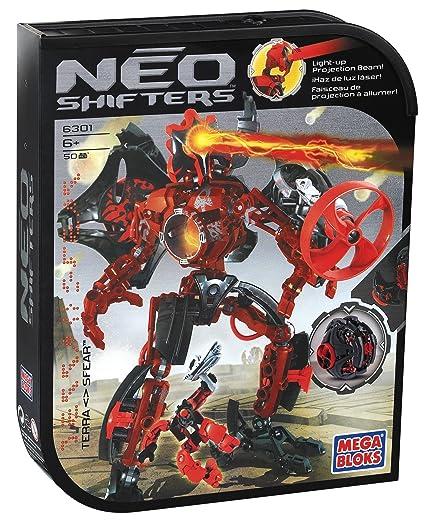 Amazon.com: Mega Bloks – Neo SHIFTERS Robot – Terra sfear ...