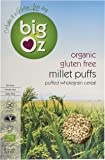 Big Oz Organic Millet Puffs 225 g (Pack of 5)
