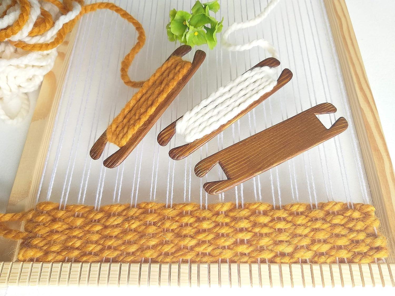 tablet weaving backstrap loom shuttle and sword- saami weaving,pick up stick baltic shed stick rigid heddle loom inkle loom