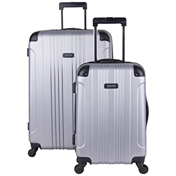 7e0d2aa67 Amazon.com   Kenneth Cole Reaction Out Of Bounds 2-Piece Lightweight  Hardside 4-Wheel Spinner Luggage Set: 20
