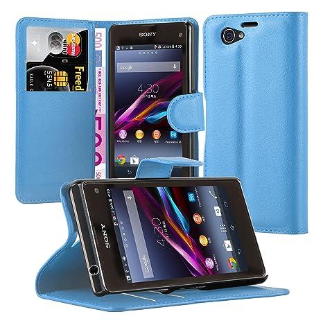 Cadorabo Carcasa para Sony Xperia Z1 Compact en Pastel Azul ...