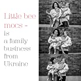 LittleBeMocs T-Strap Baby Moccasins