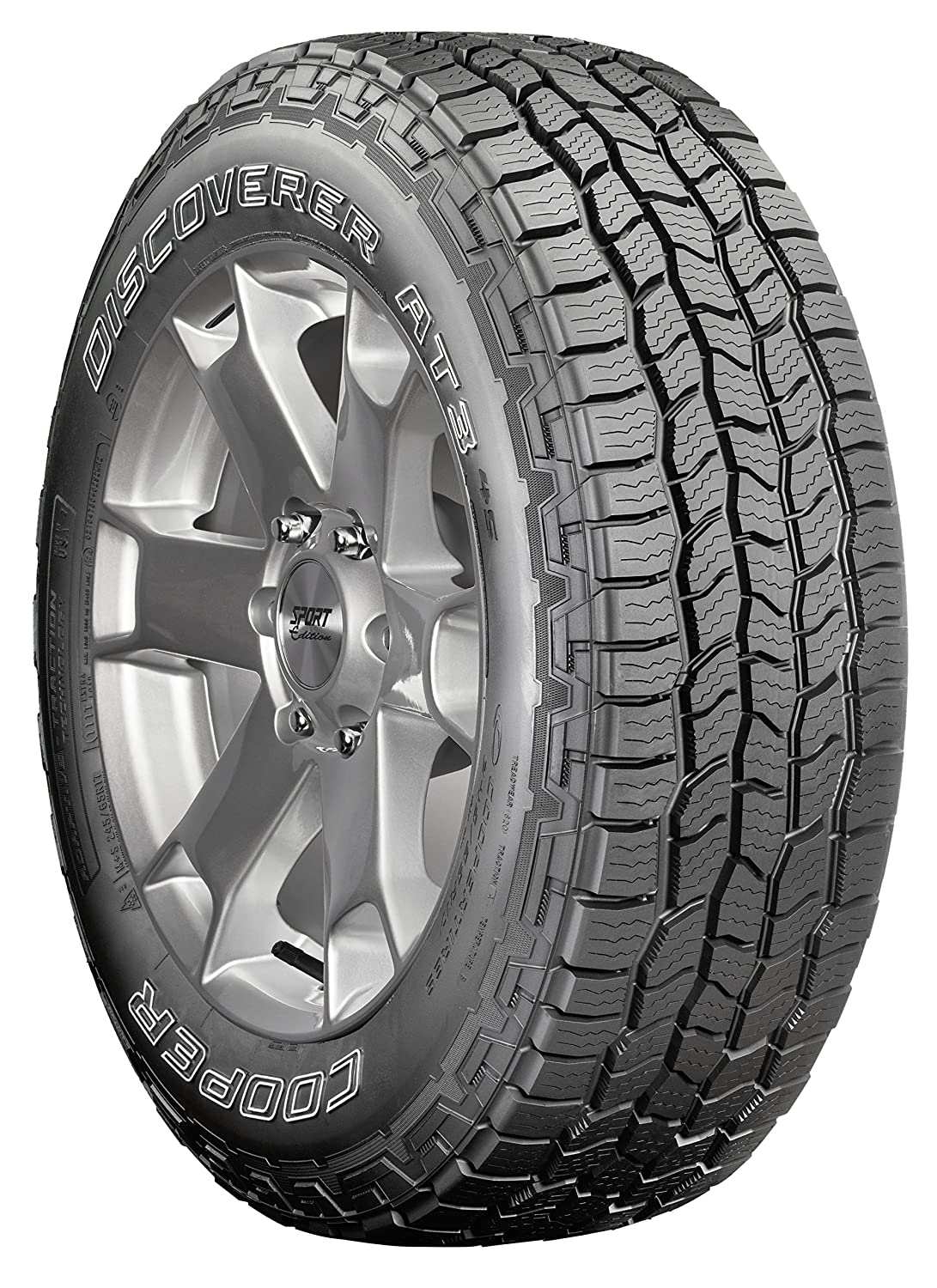 Cooper Discoverer A/T3 4S All-Terrain Radial Tire-265/50R20XL 111T 90000032705
