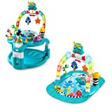 Amazon Price History for:Baby Einstein 2-in-1 Lights & Sea Activity Gym & Saucer
