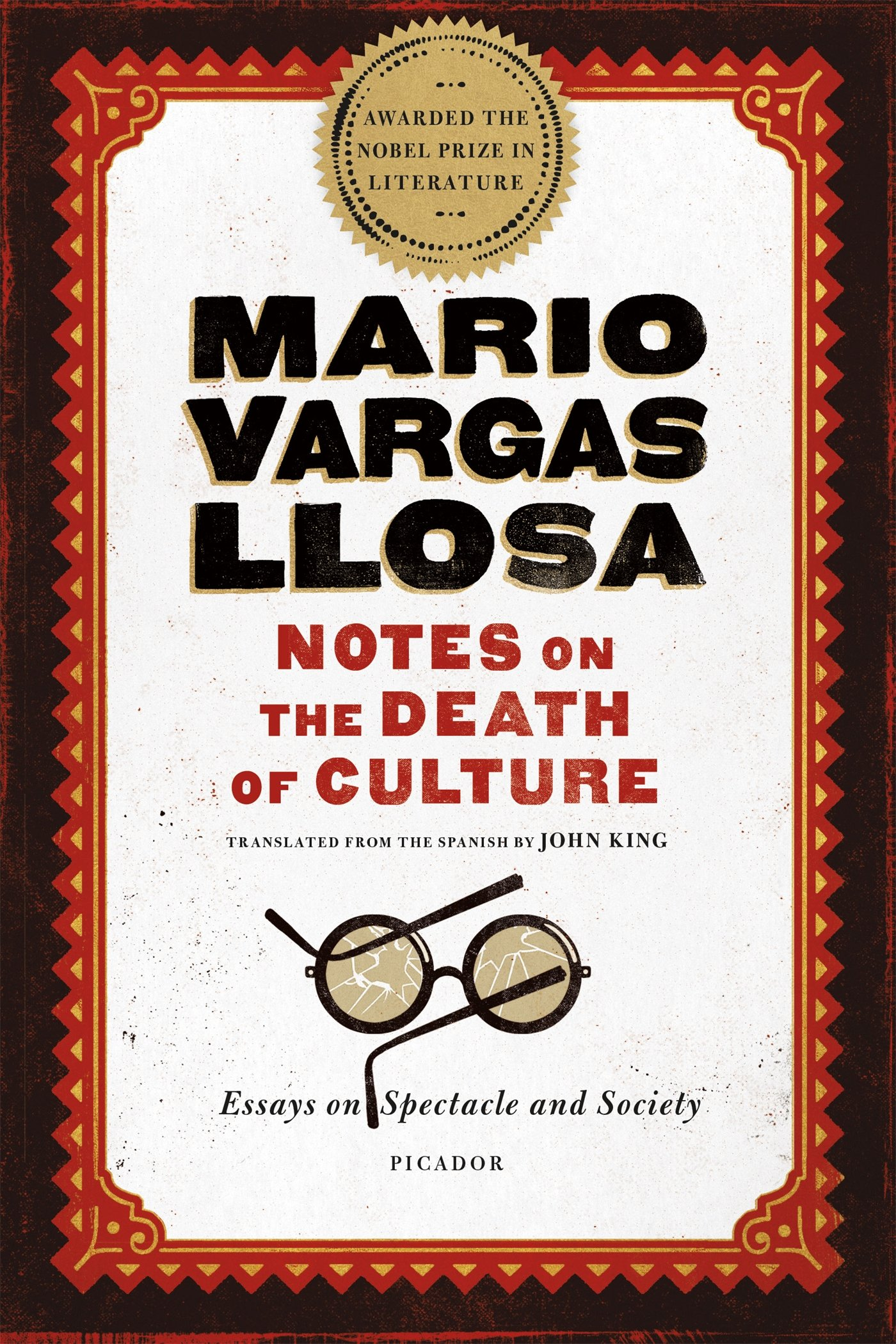 Notes On The Death Of Culture Essays On Spectacle And Society  Notes On The Death Of Culture Essays On Spectacle And Society Mario  Vargas Llosa John King  Amazoncom Books Essays Papers also English Persuasive Essay Topics  Sample Essay Thesis