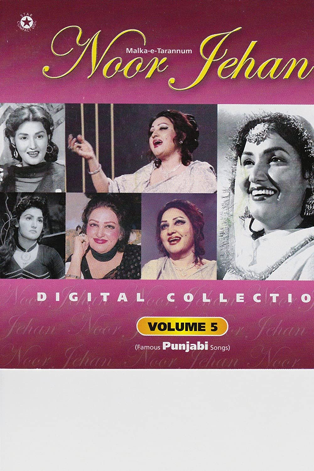 Digital Collection Volume 5 (Famous Punjabi Songs) by Noor
