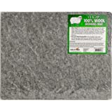 """13"""" x 17"""" Wool Ironing Mat - 100% New Zealand Wool Pressing Pad, Portable for Quilting Guilds and Classes!"""