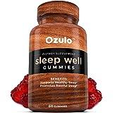 Melatonin Gummies Sleep Aid Supplement: Best Tasting Gummy for Calm Pure Restful Sleeping for Adults. Natural 2 MG Blend Bott