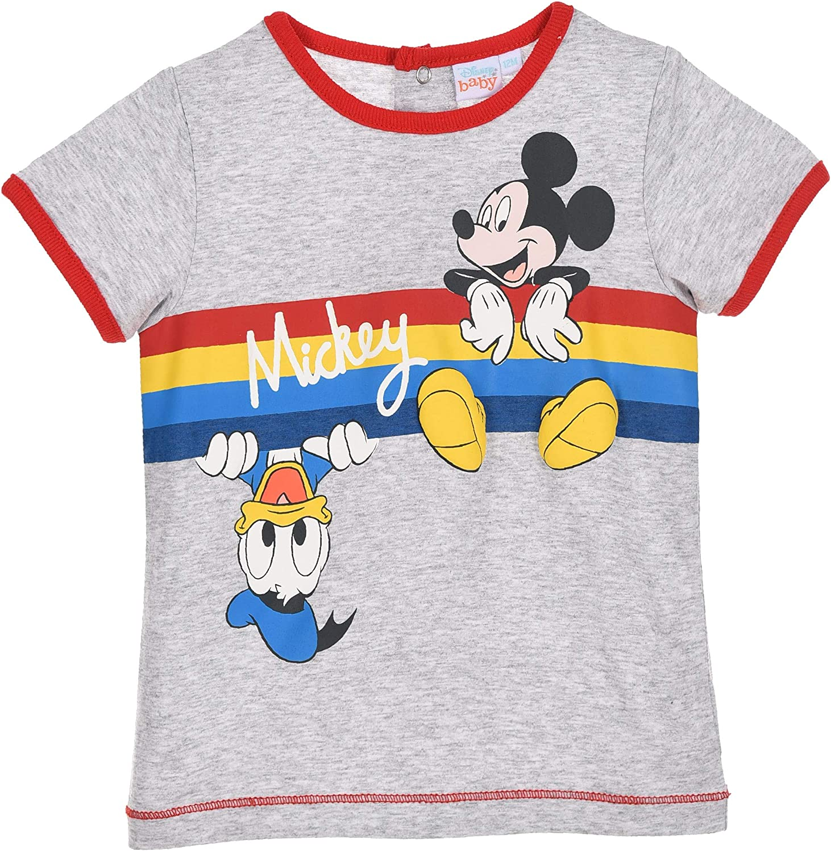 Mickey Mouse Bimbo T Shirt Maniche Corte