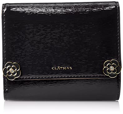 財布 CLATHAS ブラウン 三つ折り クレイサス 折財布 フリージア
