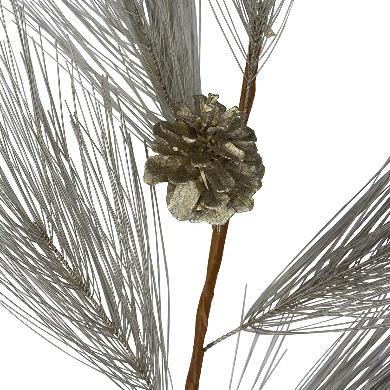 "20/"" Long Needle Pine Spray Artificial Faux Christmas Filler Greenery Fake Silk"