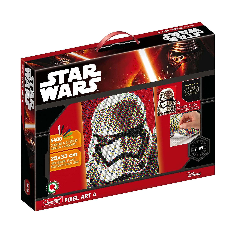 Quercetti 0846 - Steckspiel Pixel Art Star Wars 4 Storm Trooper ...