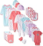 Gerber Baby Girls' 26 Piece Essentials Gift Set