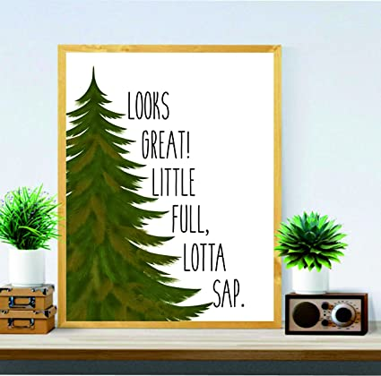 be9a1c0c7 Little full, Lotta Sap - Christmas gifts - Christmas Vacation Quote -