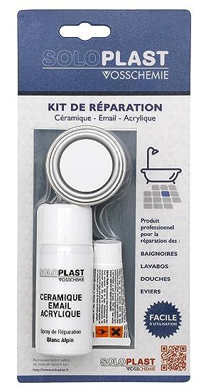 Soloplast 151333 Kit De Réparation Email Blanc Amazonfr Bricolage