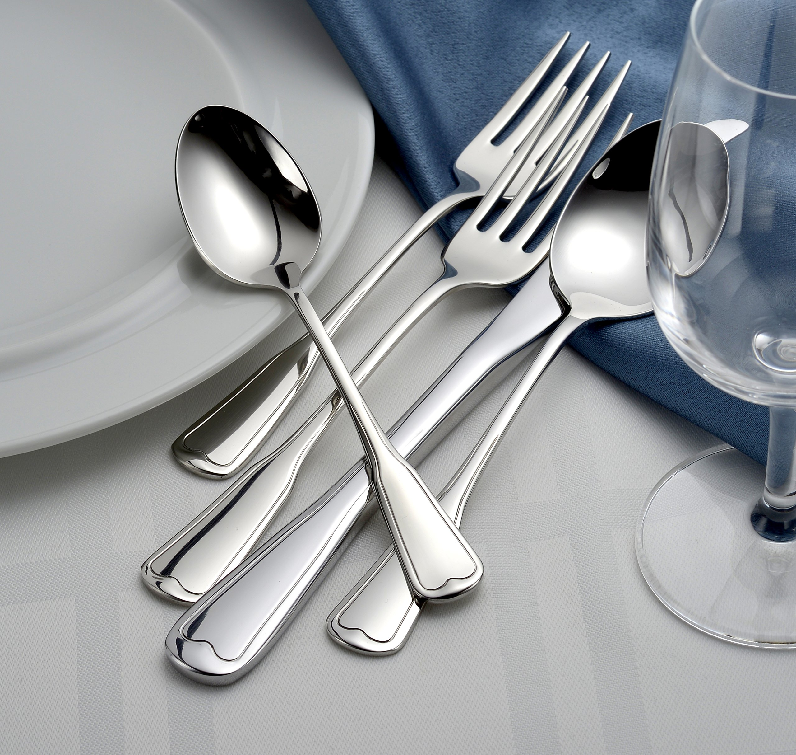 Liberty Tabletop Richmond 20 Piece Flatware Set service for 4 stainless steel 18/10 Made in USA by Liberty Tabletop (Image #6)