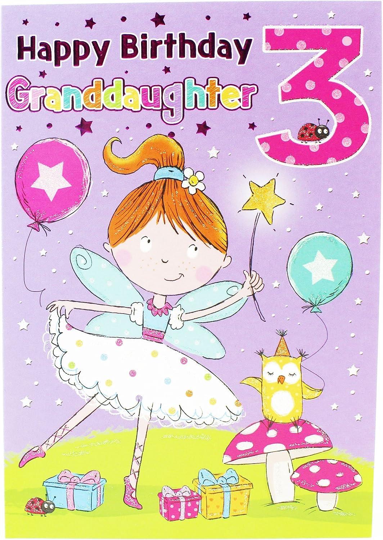 Happy 30rd Birthday Girl Hallmark Christmas Cards Granddaughter Greeting  Card Children Age