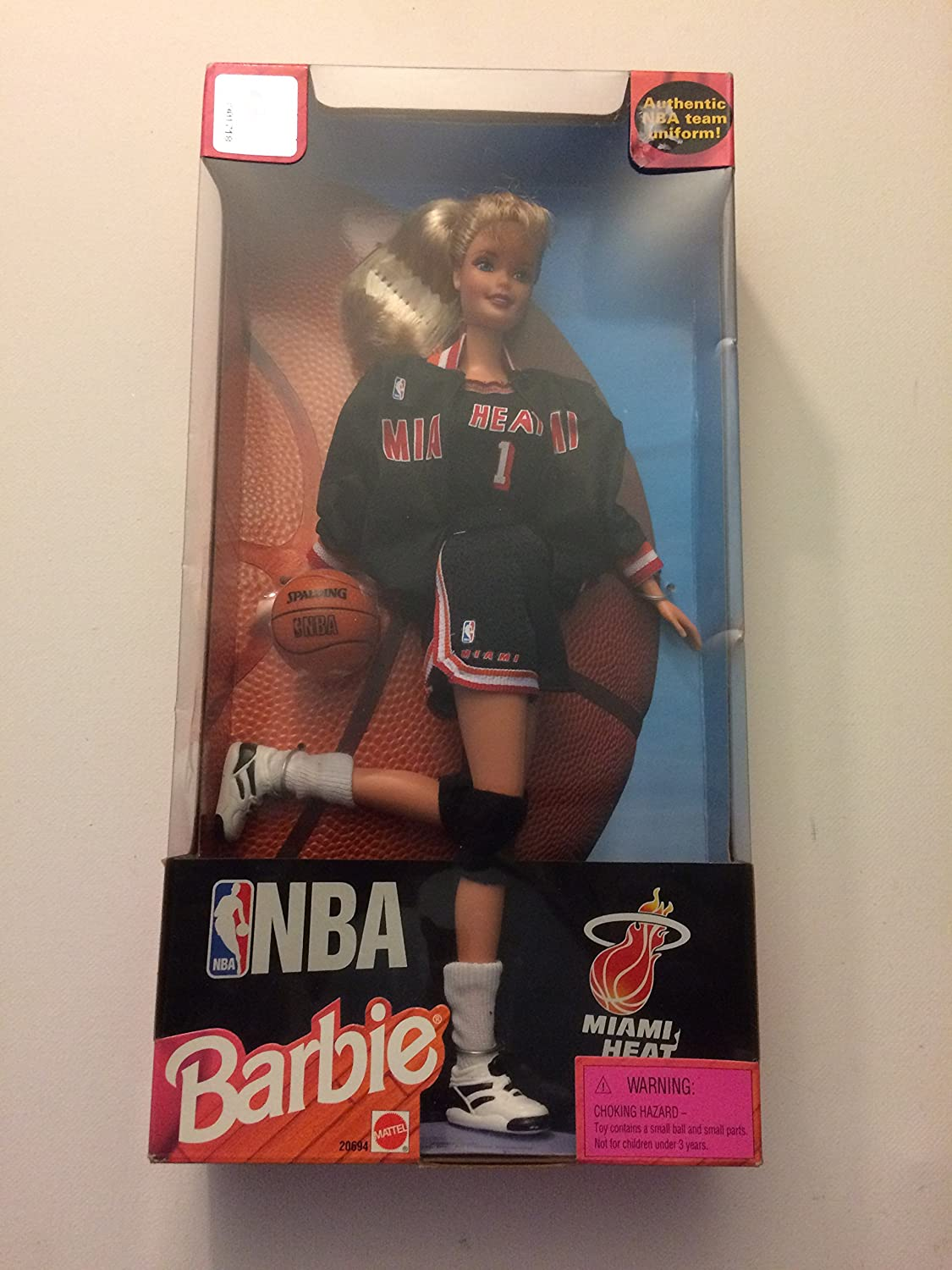 12  NBA Miami Heat Barbie Doll
