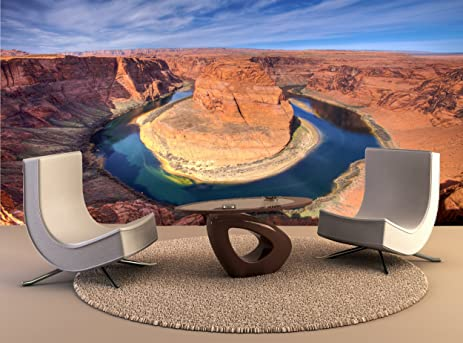 Paintings For Living Room Grand Canyon Horse Shoe Bend Giant Photo Wall  Paper Mural Wall Paintings