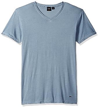 5e0b34530 Hugo Boss Men's Trace Slim Fit V-Neck T-Shirt: Amazon.in: Clothing ...