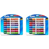Expo Low Odor Chisel Tip Dry Erase Markers WTUHXjW, 2Pack (16Pack)