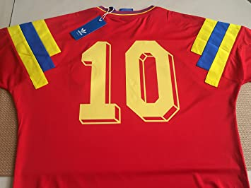 best service 481c7 26e79 1990 Colombia World Cup Jersey Authentic Size Medium Carlos ...